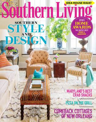 Southern living august 2015 cover marissa hermanson Southern living change of address