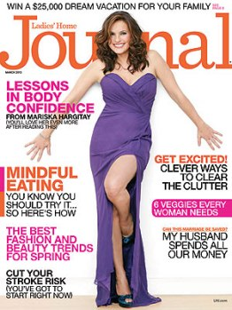 Ladies Home Journal March 2013