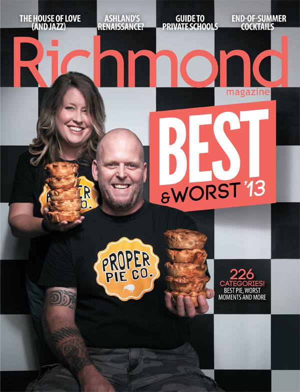 Richmond Magazine August 2013 cover
