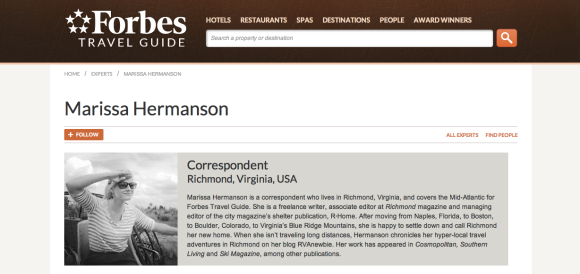 Marissa Hermanson Forbes Travel Expert