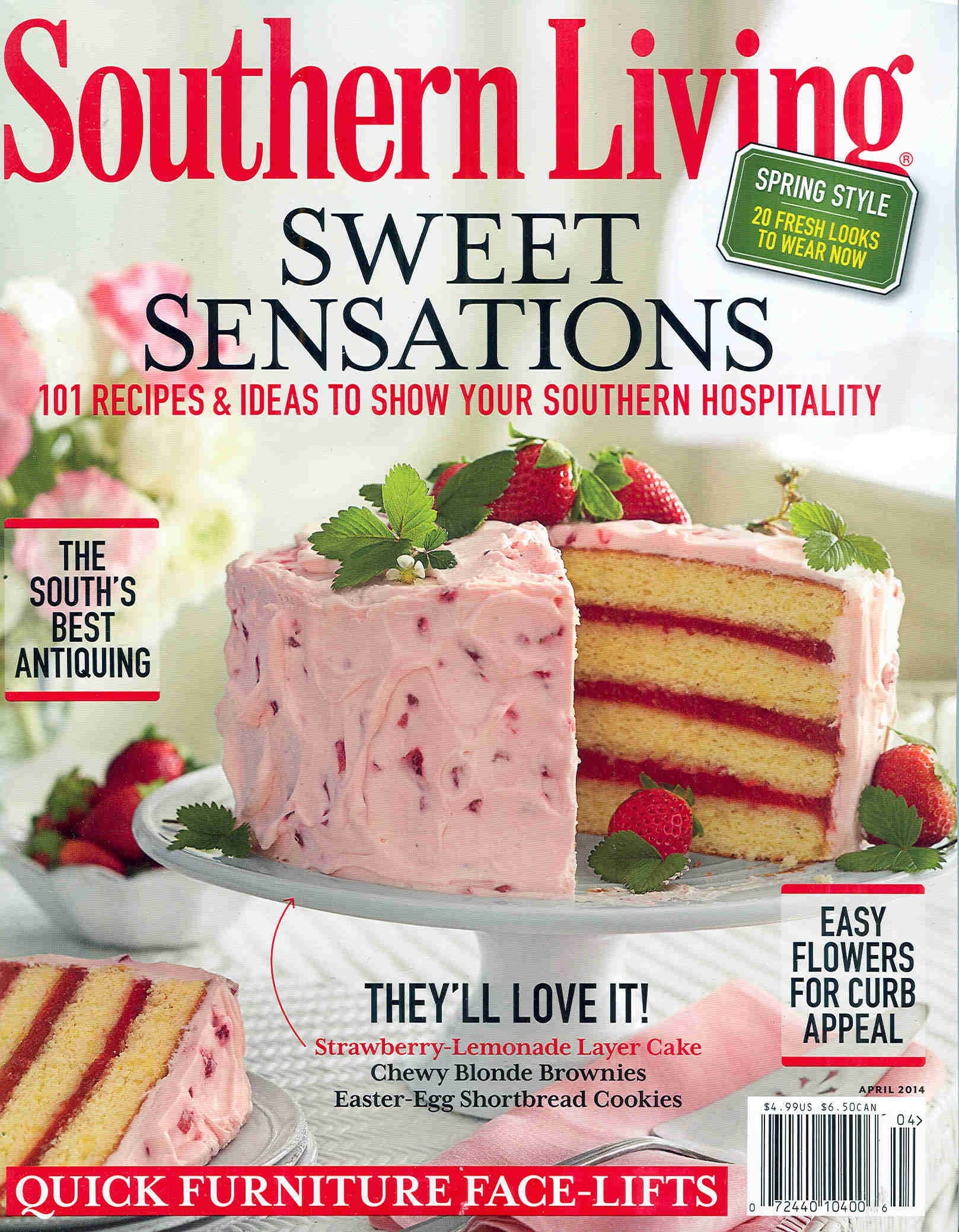Living Room Southern Living Pictures southern living marissa hermanson april 2014 cover