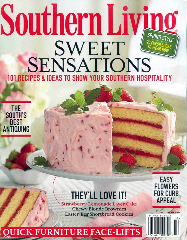 southern living april 2014 cover