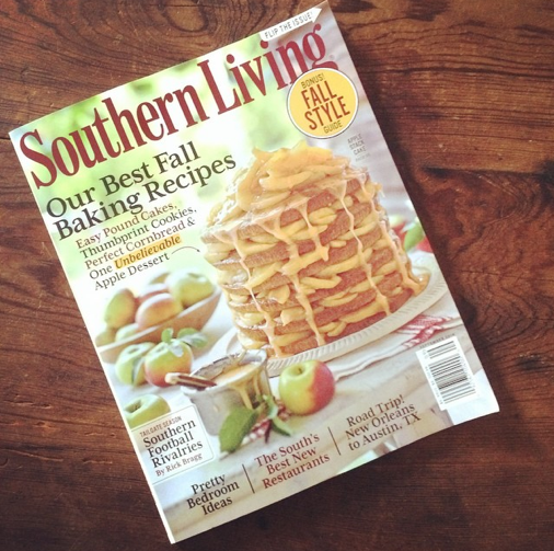 Southern living september 2014 issue marissa hermanson Southern living change of address