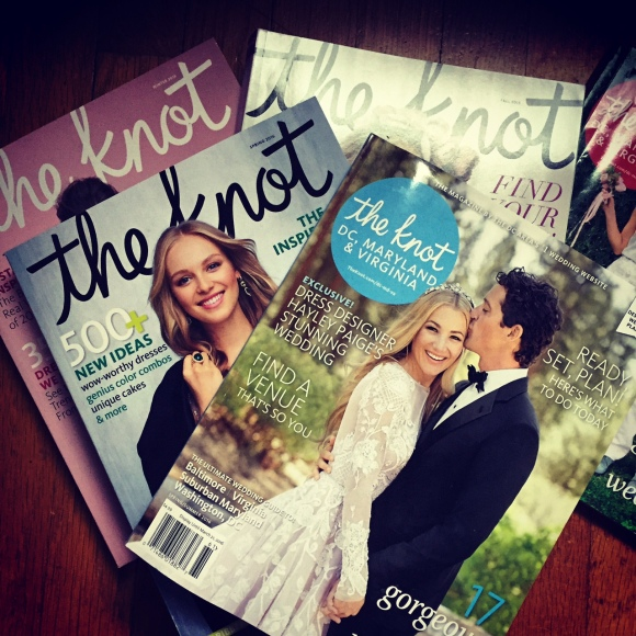 The Knot magazines