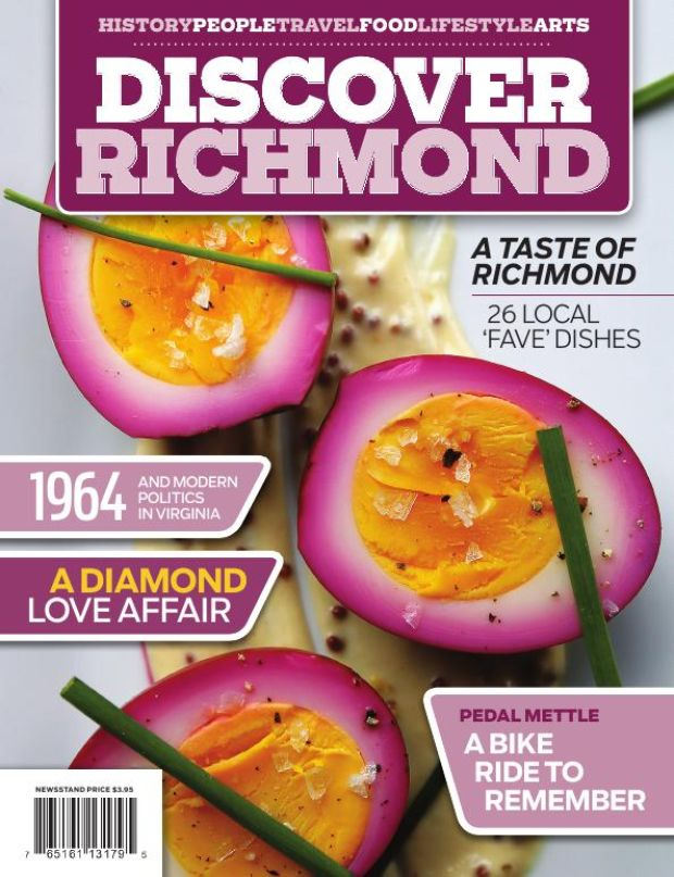 Discover Richmond Spring 2016 cover