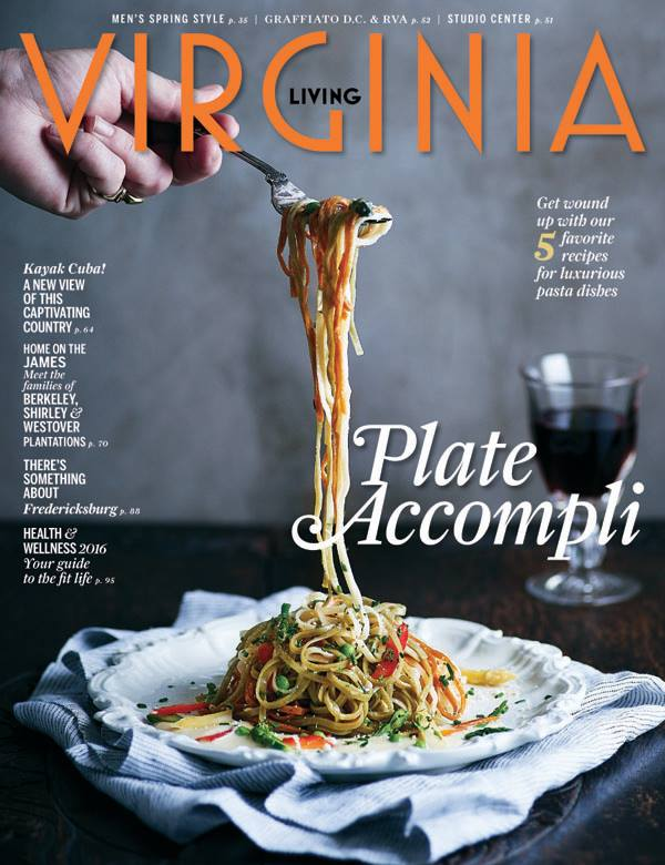 Virginia Living March:April 2016 Cover