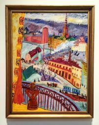 view-of-slussen-1919-by-sigrid-hjerten
